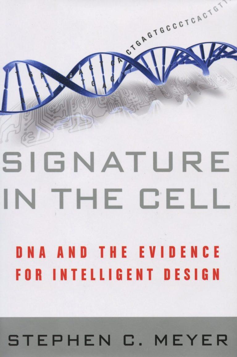 Kirjaesittely: Stephen Meyer, Signature in the Cell