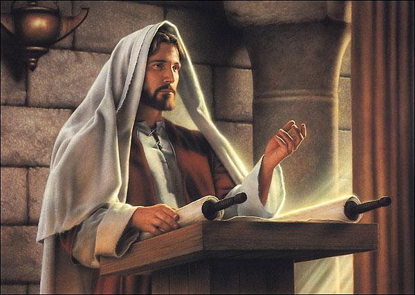 Jeesuksen saarna Nasaretin synagogassa (Luuk. 4:16-30)